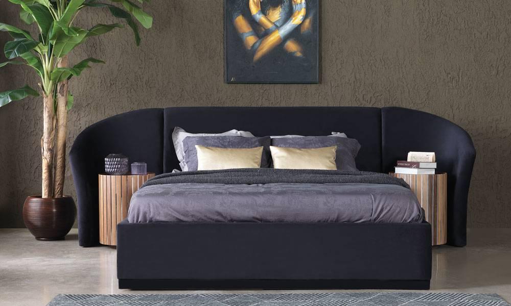 Alyans Ceviz Modern Yatak Odası Takımı