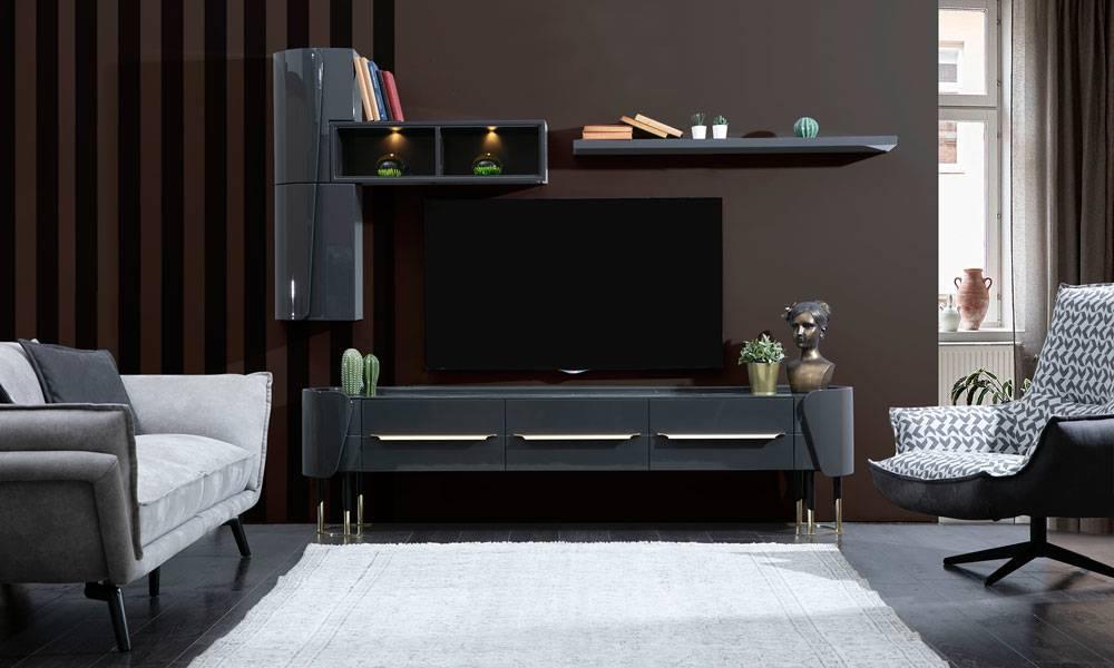 Arcadia Modern Natural Tv Ünitesi