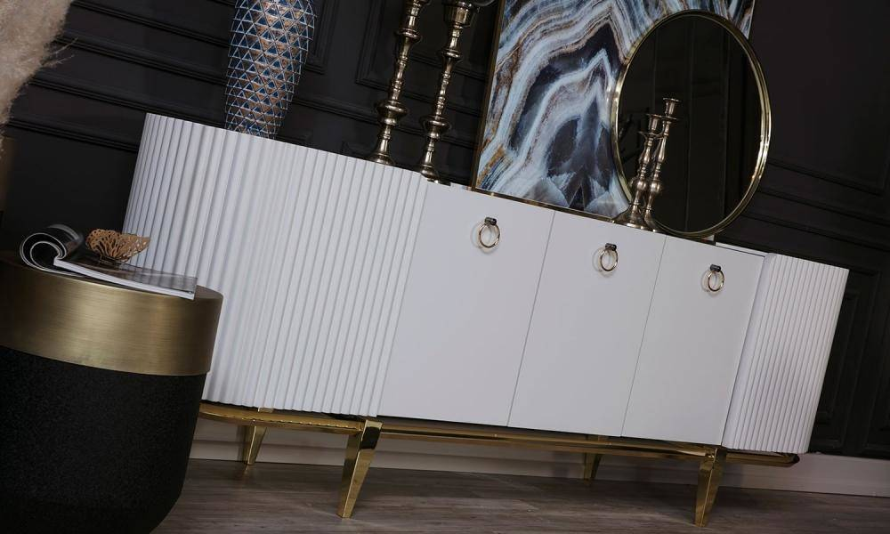 Bella Art Deco Yemek Odası Takımı