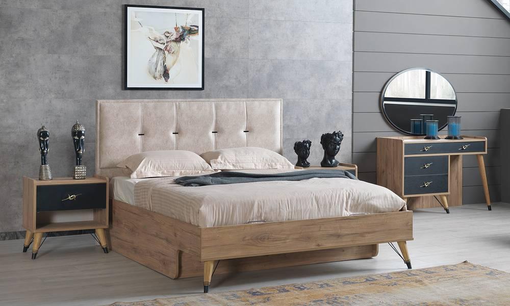 Black Modern Yatak Odası Takımı