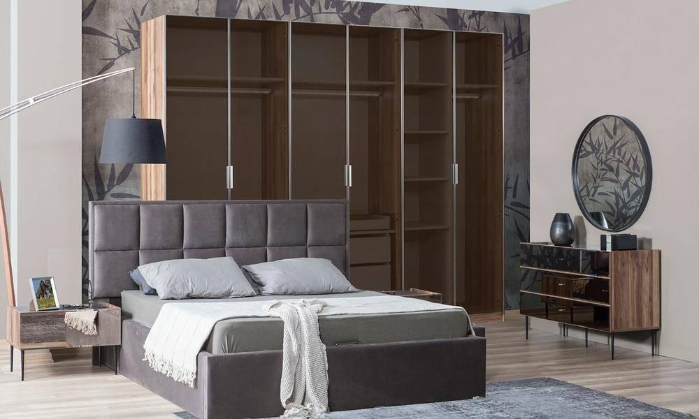 Bronze Modern Giyinme Odası