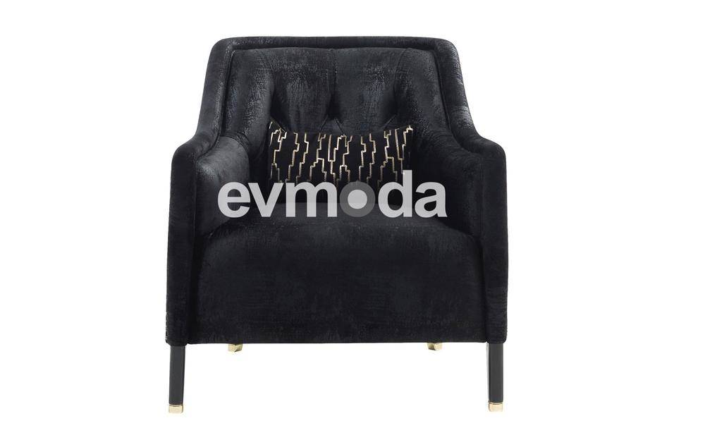 Cavalli Siyah Koltuk Takımı