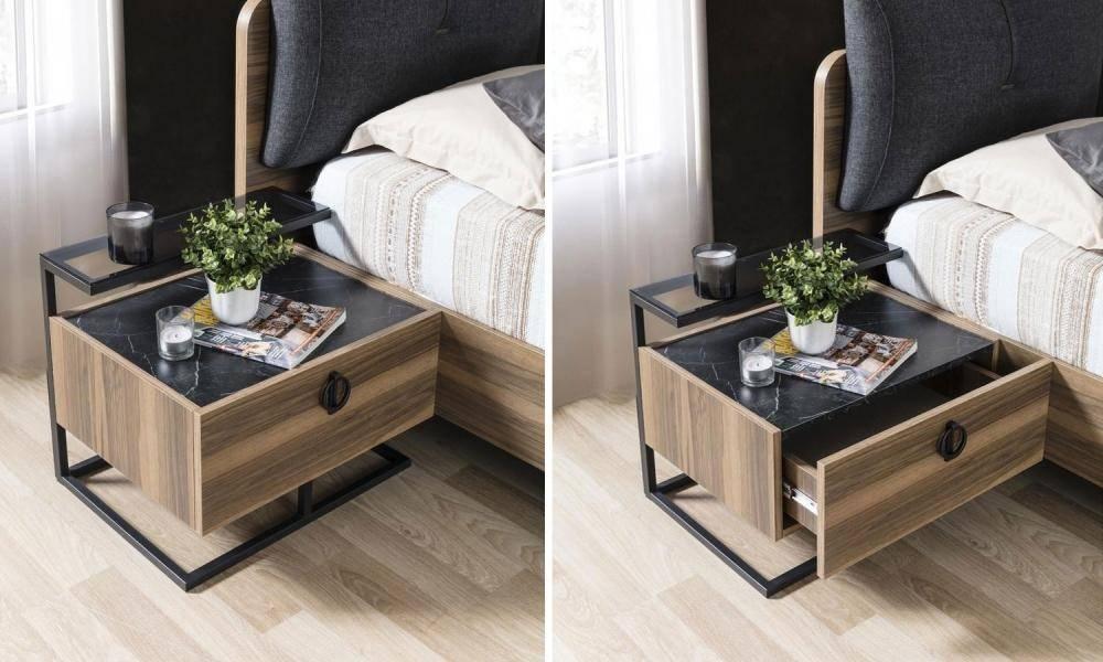 Cool Ceviz Modern Yatak Odası Takımı