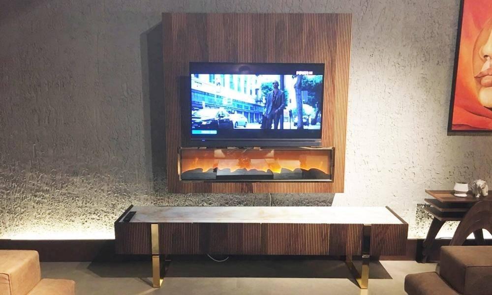 Elegante Ceviz Modern Tv Ünitesi