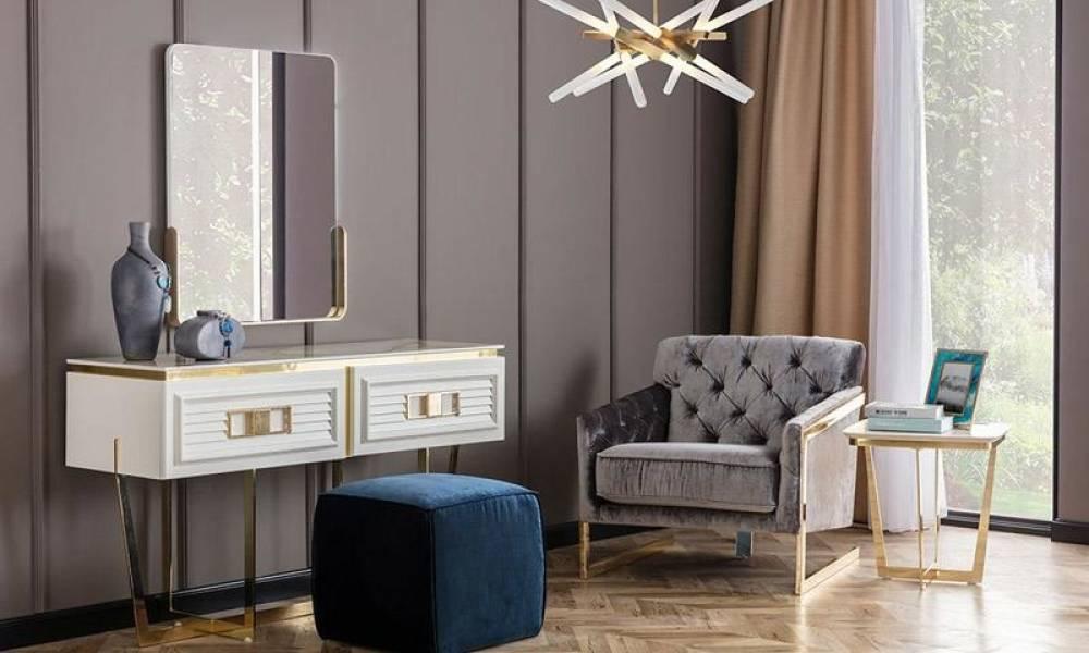 Gloria Modern Sürgülü Yatak Odası Takımı