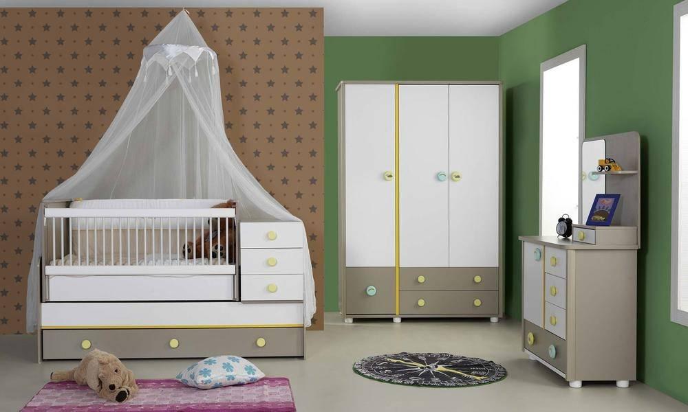Gökkuşağı Bebek Odası Takımı