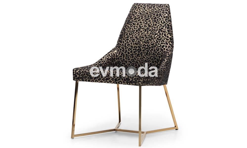 Gucci Black Gold Sandalye