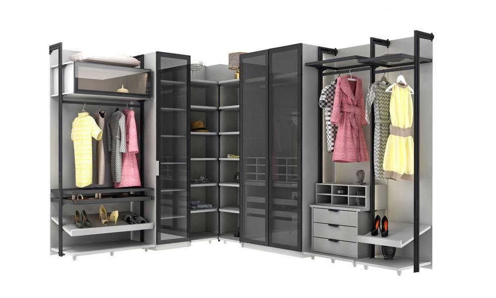 Holly V2 Modern Giyinme Odası Takımı
