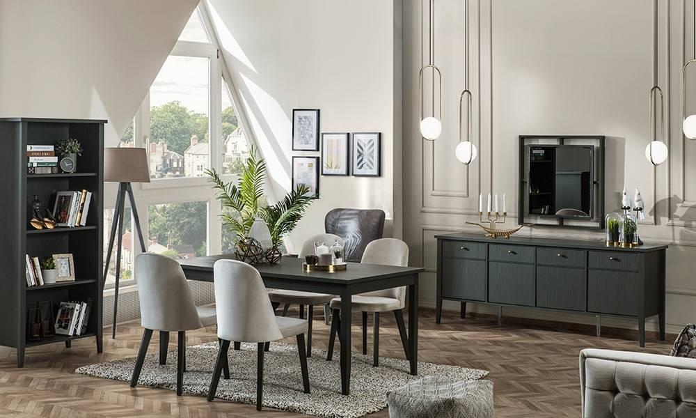 Marsella Grey Modern Yemek Odası Takımı