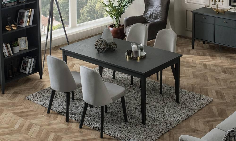 Marsella Grey Yemek Masası