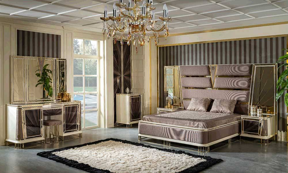 Olimpos Art Deco Yatak Odası Takımı
