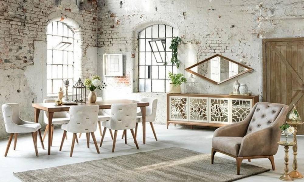 Oslo Modern Yemek Odası Takımı