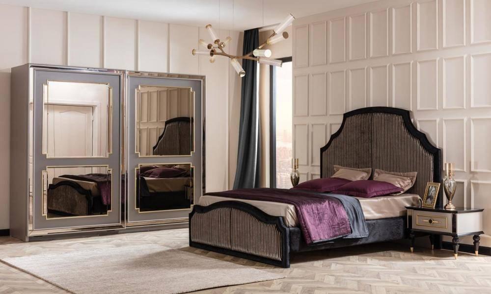 Retro Art Deco Yatak Odası Takımı