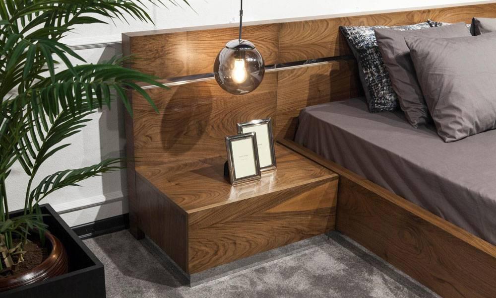 Sierra Ceviz Modern Yatak Odası Takımı