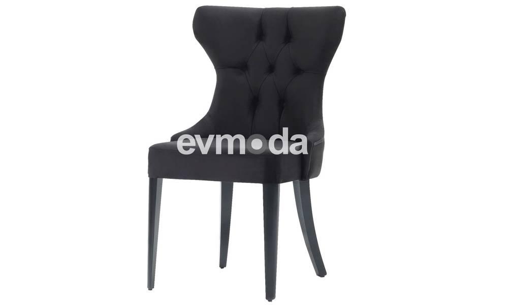 Nepal Siyah Sandalye