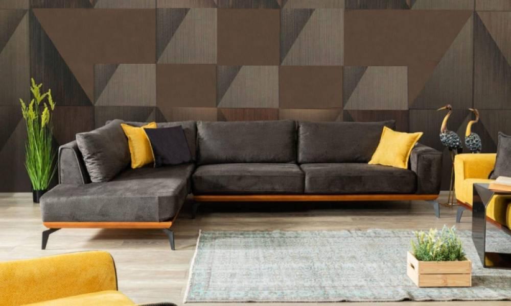 Sofa Best Sarı Köşe Takımı