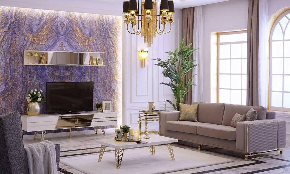 Uludağ Gold Modern Tv Ünitesi