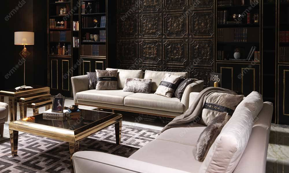 Versace Ceviz Modern Koltuk Takımı