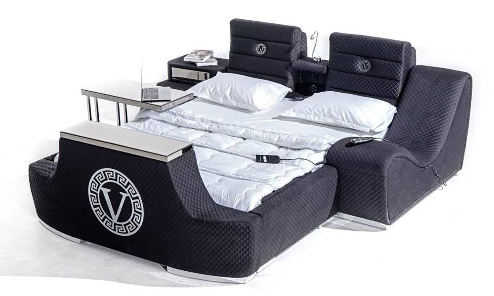Versace Tv Mekanizmalı + Masajlı Karyola
