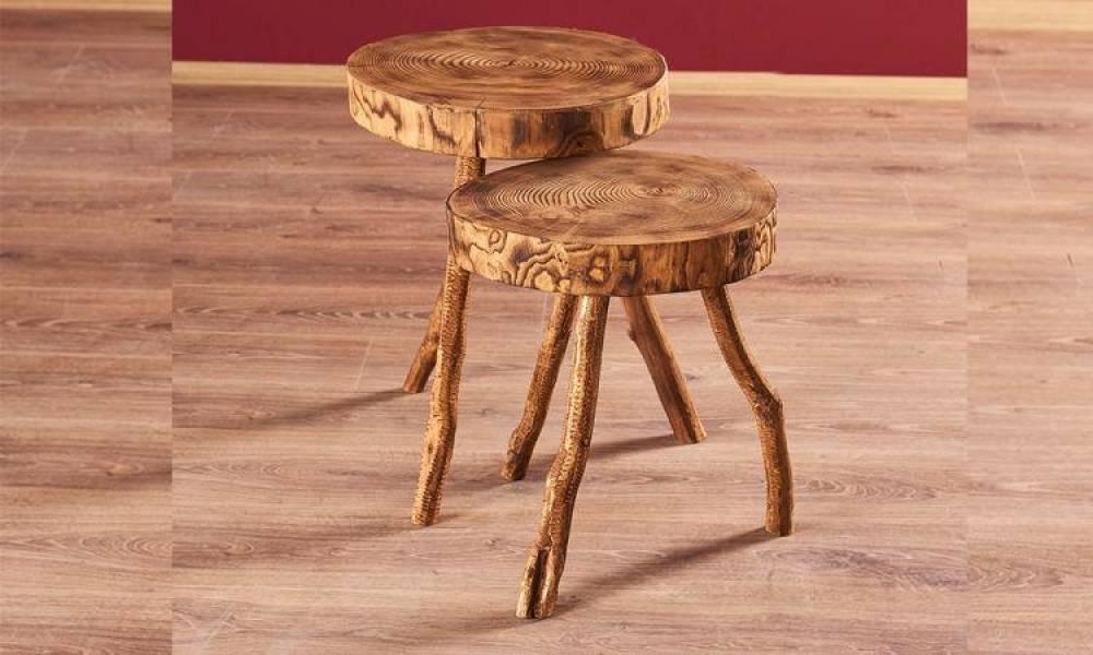 Wooden Zigon Sehpa
