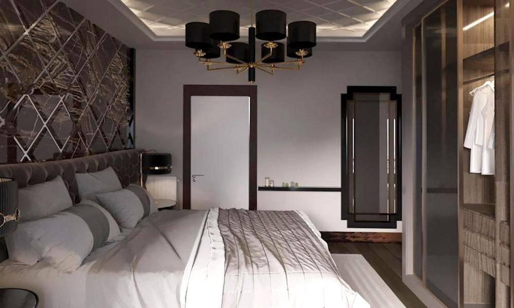 Modern Yatak Odası Projemiz
