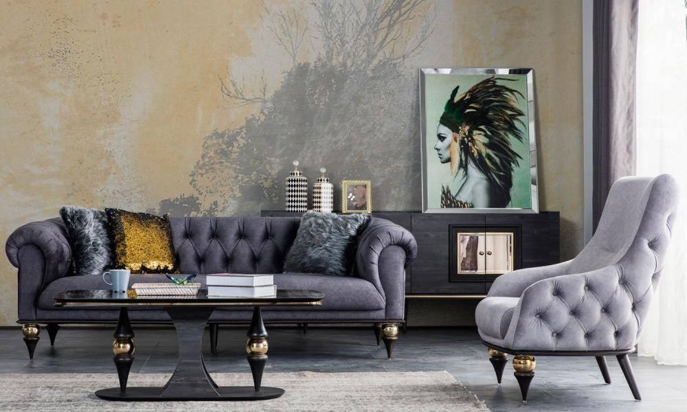 Zeny Art Deco Koltuk Takımı