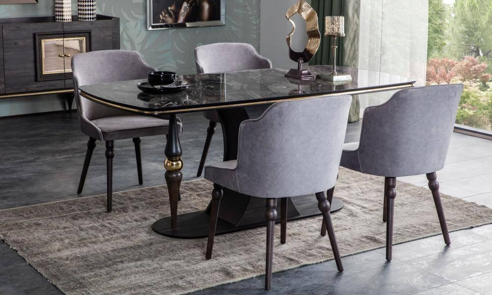 Zeny Art Deco Yemek Odası Takımı