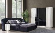 Alyans Beyaz Modern Yatak Odası Takımı - Thumbnail