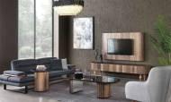 Alyans Ceviz Modern Tv Ünitesi - Thumbnail