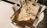 Anemon Art Deco Yemek Odası Takımı - Thumbnail