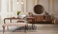 Bellac Ceviz Modern Yemek Odası Takımı - Thumbnail