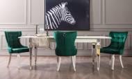 Bianco Art Deco Yemek Odası Takımı - Thumbnail