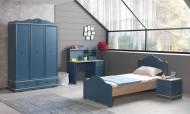 Blue Modern Genç Odası Takımı - Thumbnail