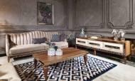 Bugatti Ceviz Art Deco Tv Ünitesi - Thumbnail