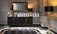 Cavalli Siyah Yemek Odası Takımı - Thumbnail