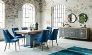 Dream Mavi Modern Yemek Odası Takımı - Thumbnail