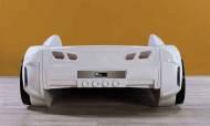 Fullar Full Beyaz Araba Karyola - Thumbnail