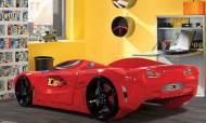 Fullar Full Kırmızı Araba Karyola - Thumbnail