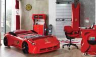Garage Arabalı Çocuk Odası Takımı - Thumbnail