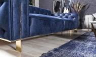 Gold Mavi Modern Koltuk Takımı - Thumbnail