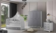 Grey Bebek Odası Takımı - Thumbnail