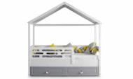 Grey Montessori Karyola - Thumbnail