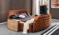 Hermes Tv Mekanizmalı Modern Karyola - Thumbnail