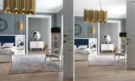 Lora Beyaz Modern Yatak Odası Takımı - Thumbnail