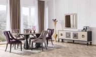 Lux Gold Modern Yemek Odası Takımı - Thumbnail