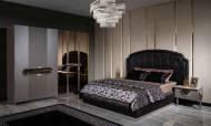Lüx Mimoza Modern Yatak Odası Takımı - Thumbnail