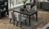 Marsella Grey Yemek Masası - Thumbnail