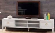 Melis Beyaz Modern Tv Ünitesi - Thumbnail