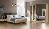 Metalica Modern Yatak Odası Takımı - Thumbnail