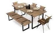 Miya Modern Yemek Odası Takımı - Thumbnail